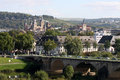 View or the cathedral of Trier Stock Photo