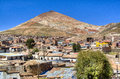 View on Cerro Rico in Potosi Royalty Free Stock Photo