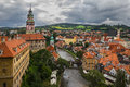 View of Cesky Krumlov. Royalty Free Stock Image