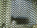 View through chain mail detail Royalty Free Stock Photo