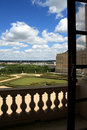 View from Chateau de Versailles Royalty Free Stock Photography