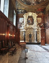 A View of Chatsworth Chapel, Great Britain Royalty Free Stock Photo