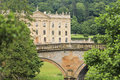 A View of Chatsworth House, Great Britain Royalty Free Stock Image