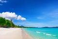 View of chaweng beach koh samui island thailand Stock Photography