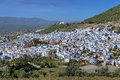 View of Chefchaouen, Morocco Royalty Free Stock Photo