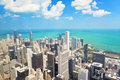View of Chicago from the Willis Tower Royalty Free Stock Images