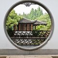 The view  in a chinese traditional garden Royalty Free Stock Photography