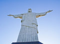View of christ the redeemer in rio de janeiro brazil Stock Photo