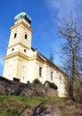 View of the church nemojany moravia czech republic europe spring Stock Photography