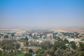 View of the city of Beer Sheva Royalty Free Stock Photo