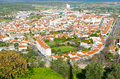 View of the city Elvas. Alentejo Region. Portugal Royalty Free Stock Photo