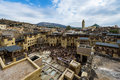 View of the city of Fez, in Morocco Royalty Free Stock Photo