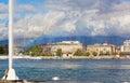 View of city of Geneva Royalty Free Stock Photo