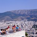 View of the city from Lycabettus Hill, Greece, Athens