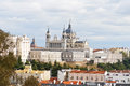 View of the city of Madrid Royalty Free Stock Images