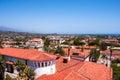 View of the city of Santa Barbara, California, USA Royalty Free Stock Photo