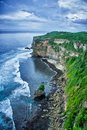View cliff bali indonesia Stock Image