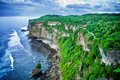 View cliff bali indonesia Stock Images