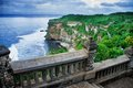 View cliff bali indonesia Royalty Free Stock Images