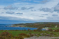 View of the coast in Sweden Royalty Free Stock Image