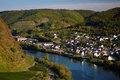 View on Cochem city Stock Photos