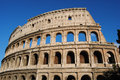 View of the Colosseum. Rome Stock Images