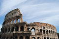 View of the Colosseum. Rome Royalty Free Stock Image