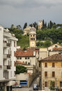 View of Conegliano town. Italy Royalty Free Stock Photo