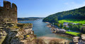 View from Conwy Castle Royalty Free Stock Photo
