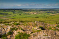 View from Crook Peak Somerset Stock Images