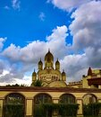 Dakhineshwar Kali Temple in Kolkata, West Bengal Royalty Free Stock Photo