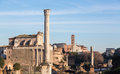 View of details of Ancient Rome Stock Images