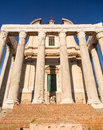 View of details of Ancient Rome Royalty Free Stock Images