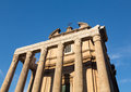 View of details of Ancient Rome Royalty Free Stock Photo
