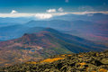 View of distant ridges of the White Mountains and Lakes of the C Royalty Free Stock Photo