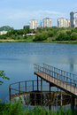 View from Donetsk Avenue B Royalty Free Stock Images
