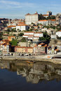 View of Douro river - Porto Royalty Free Stock Photos