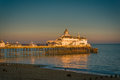 View of Eastbourne Pier Royalty Free Stock Photo