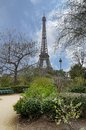 View of the Eiffel Tower Royalty Free Stock Image