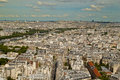 View  from the Eiffel Tower Royalty Free Stock Photo