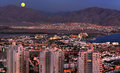 View on Eilat city from surrounding hills, Israel Stock Images
