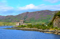 A view of eilean donan castle at dornie scotland Stock Images