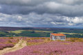 View of the english countryside in summer blanchland northumberland north east england Stock Images