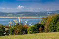 View of the estuary Exe River. Royalty Free Stock Photo