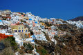 View of fira town santorini Royalty Free Stock Photos