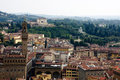View of Firenze from Dome Stock Photo