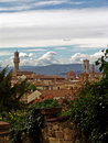 View on florence city. italy Stock Image