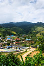 View form Piangluang In Wianghaeng Chiangmai Royalty Free Stock Images
