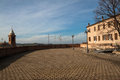 View from the fortress of the malatesta of montiano cesena Stock Photos
