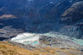 View of  Franz Josefs Hohe Glacier, Hohe Tauern National Park Royalty Free Stock Photo